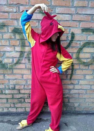 Класcная пижама кигуруми слип человечек жираф f547f0fdeede1