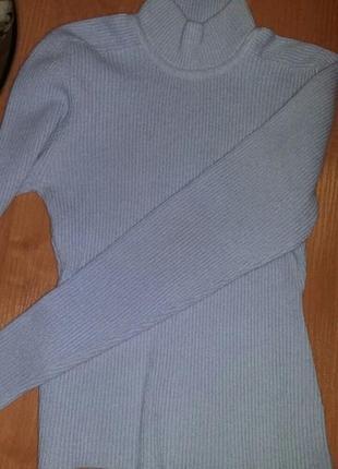 Сиреневый свитер пуловер + подарок