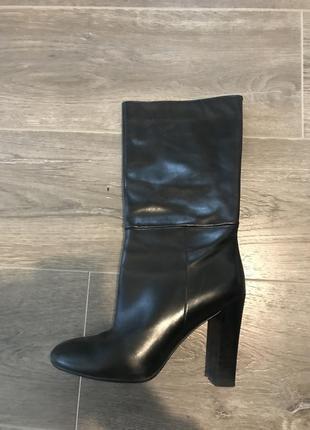 Шкіряні чоботи carlo pazolinni
