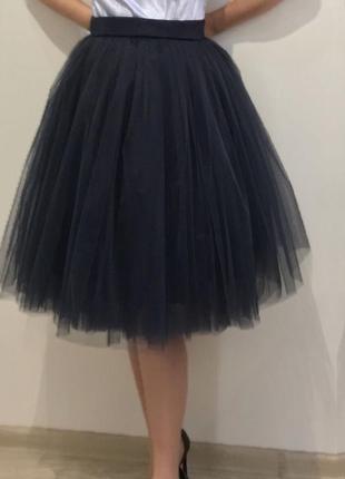 Юбка пачка фатинвоая красивая мега модная