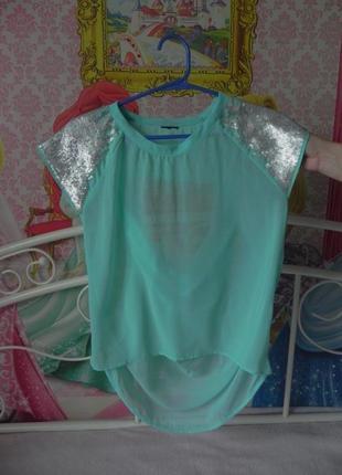 Крутая фирменная блузка размер s