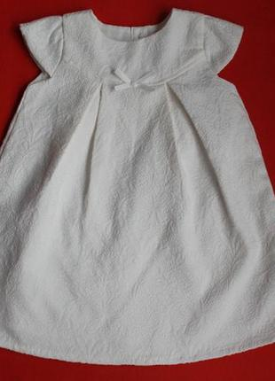 Платье george для девочки 1-2 года(на бирке 1-1.5 года,но большемерит)