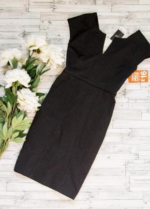 Стильное плотное платье next
