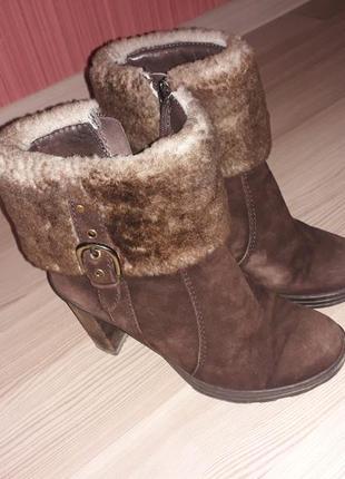 Зимние ботинки/полусапожки