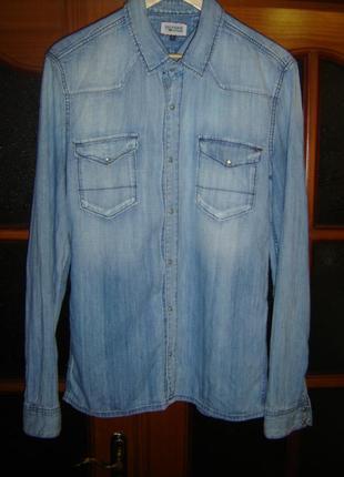 eab1a8668181 Мужские джинсовые рубашки Tommy Hilfiger 2019 - купить недорого ...
