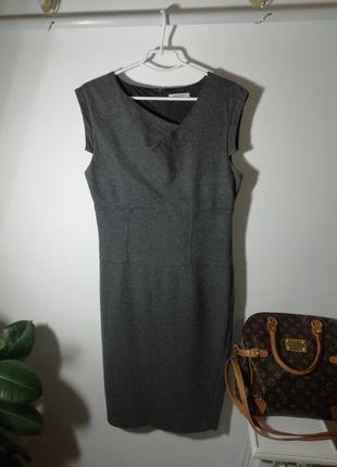 Шерстяное платье миди marella