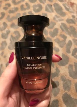 Духи vanille noire yves rocher оригінал 30 мл