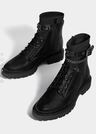 Ботинки бутсы bershka размер 36 37 38 39 40 41