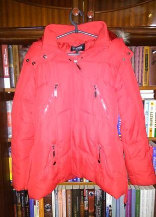 Шикарная куртка papaya 18 размер