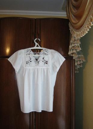 Блуза todaywoman, 100% хлопок, размер s/m