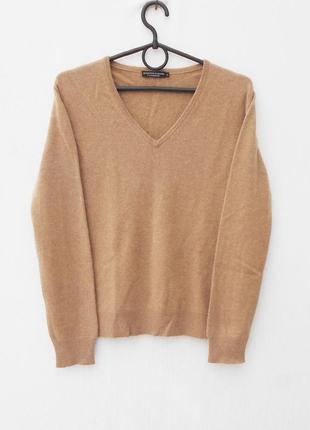 Осенний зимний 100% кашемировый свитер с длинным рукавом
