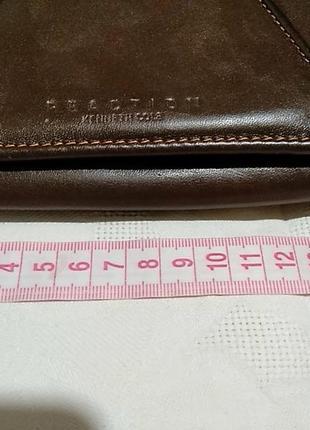 Вместительный кошелек из натуральной кожи  reaction kenneth col