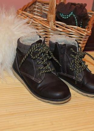 Фирменные теплые ботинки на осень р 29 george