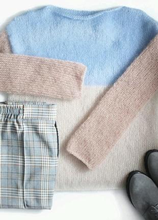 Нежнейший свитерок из мохера♥