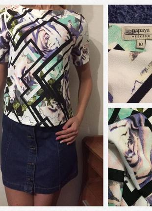 Превосходная футболка/блуза))) в стиле арт💕💕💕