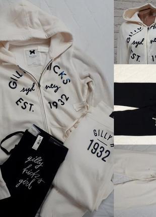 Gilly hicks оригинал спортивный костюм кофта свитшот штаны