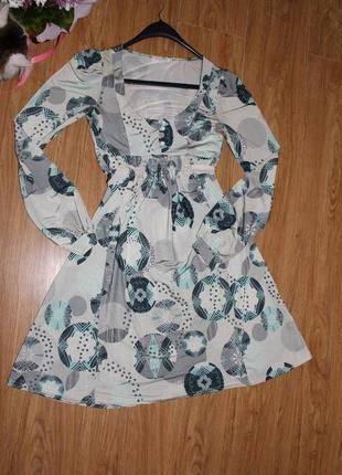 Красивое французское платье.
