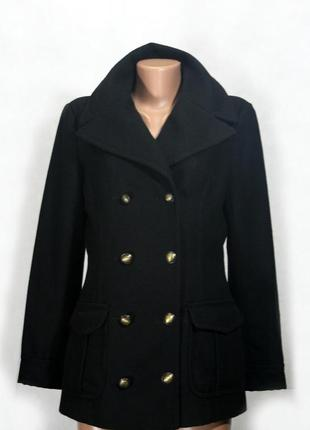 Двубортное пальто esprit de corp. 60% шерсть