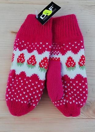 Зимові рукавиці