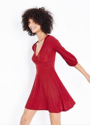 Идеальное платье для нового года new look
