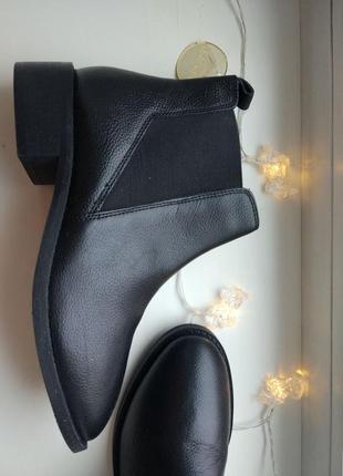 Ботинки челси черные кожаные3 фото