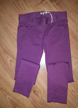 Фирменые джинсы  брюки скинни 12 лет gatti