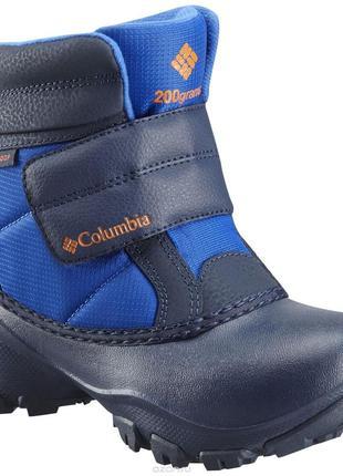 Зимние ботинки сноубутсы columbia р-р 34, стелька 23см