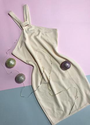 Платье нежного цвета пудра, нюдовый prettylittlething