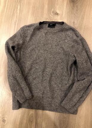 Шерстяной свитер f&f