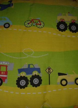 Набор детский стеганный (одеяло + подушка) тм ярослав