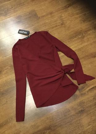 1+1=3 распродажа !!!стильная блуза на запах