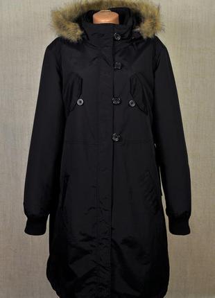 Замечательное утепленное пальто-трансформер,2 в 1 .качество!