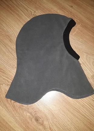 Теплая флисовая шапка шлем от mame if