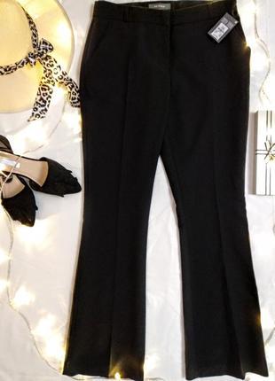 Классические чёрные брюки со стрелами primark/м