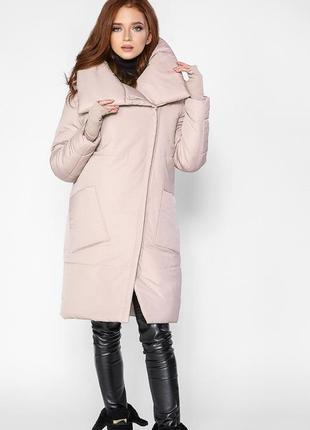 Куртка пальто зимняя. стильная модель. отличное качество!