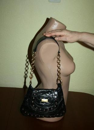 Стильная кожаная сумка coccinelle original