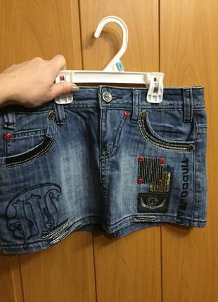 Спідниць джинсова