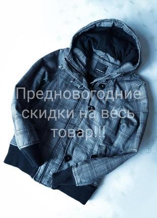 Стильная коттоновая куртка на синтепоне