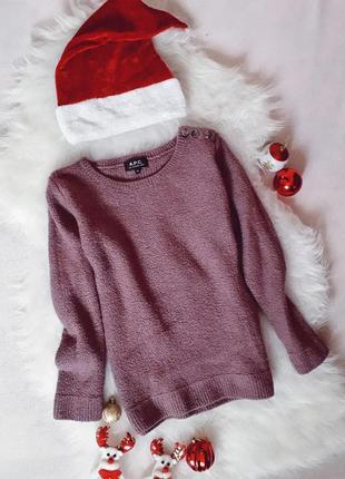 Теплый реглан свитер свитшот в составе шерсть