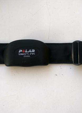 Нагрудный датчик пульса polar wearlink  coded