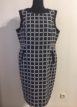 Оригинальное силуэтное платье большого размера (англ 20, нем 48, укр 54-56) principles