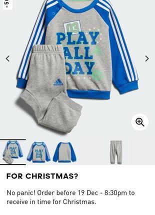 Детский костюм adidas,оригинал,1-1.5