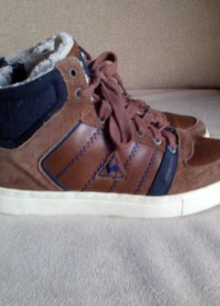 Ботинки кеды высокие зимние le cog sportif