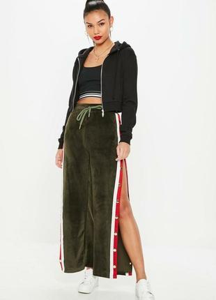Плюшевые штаны с лампасами3 фото