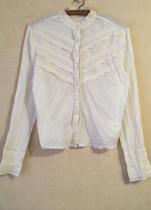 Винтажная рубашка в викторианском стиле