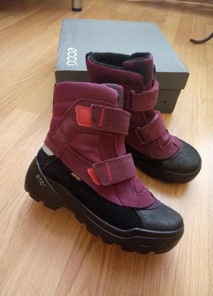 Ботинки ecco snow rush gore-tex р. 35