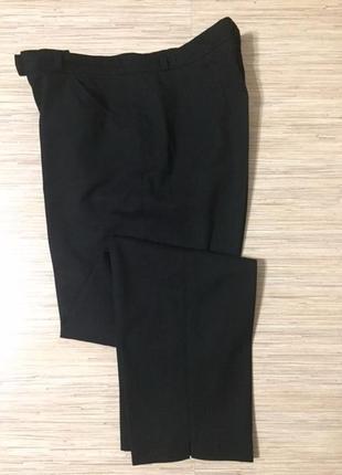 Шерстяные зауженные брюки большого размера (нем 44, укр 50-52) от бренда brax
