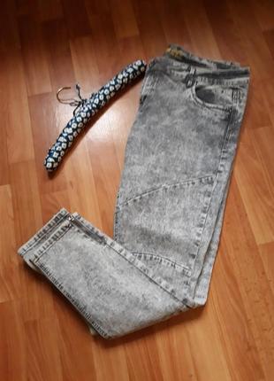 Классные вареные джинсы скинни