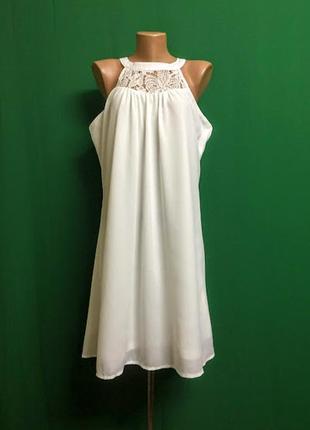 Нарядное платье l.b.c. с открытыми плечами