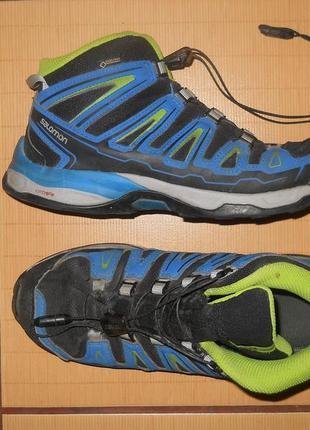 Кроссовки ботинки зимние salomon gore tex